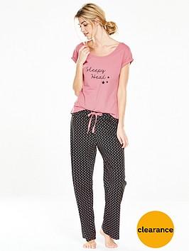 v-by-very-sleepy-head-polka-dot-pyjama-setnbsp