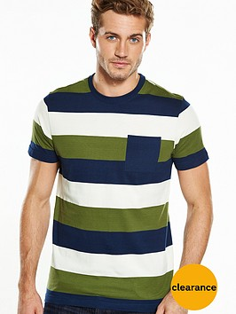v-by-very-short-sleeve-wide-stripe-pocket-t-shirt