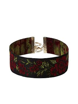 river-island-rose-embroidered-choker