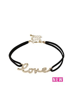 river-island-love-choker