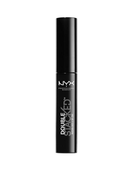 52e7c7ad3f2 NYX PROFESSIONAL MAKEUP Double Stacked Mascara   very.co.uk