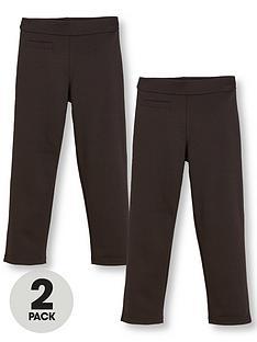 v-by-very-schoolwear-girls-jersey-school-trousers-black-2-pack