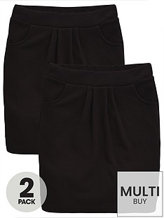 v-by-very-schoolwear-girls-jersey-school-tulip-skirts-black-2-pack