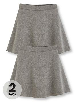 v-by-very-schoolwear-girls-jersey-skater-school-skirts-grey-2-pack