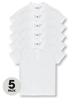 v-by-very-girls-5-pack-short-sleeves-school-polo-shirts-white
