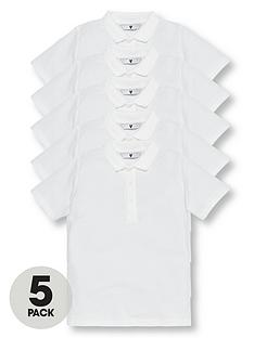 v-by-very-boys-5-pack-short-sleeve-school-polo-shirts-white