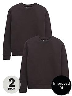 v-by-very-schoolwear-unisex-2pk-crew-neck-sweat