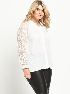 so-fabulous-lace-sleeve-longline-shirt-ivory