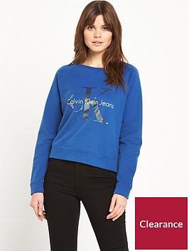 calvin-klein-hanna-true-icon-sweat-top-blue