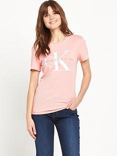 calvin-klein-logonbspt-shirt-mellow-rose
