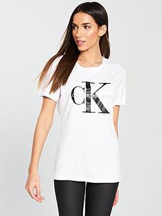 calvin-klein-logonbspt-shirt-pure-white