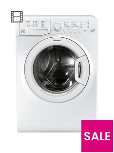 Hotpoint FML742P 7kg Load, 1400 Spin Washing Machine with Anti-Stain Technology - White