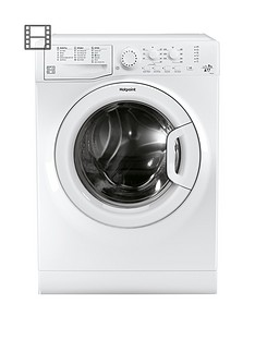 Hotpoint Aquarius FML942PUK 9kg Load, 1400 Spin Washing Machine with Anti-Stain Technology - White, A++ Energy Rating