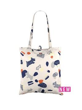 radley-radley-love-me-love-my-dog-foldaway-tote-bag