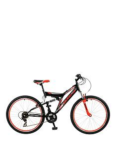 Boss Cycles Venom Mens Steel Mountain Bike 18 inch Frame