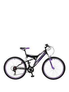 Image of Boss Cycles Venom Ladies Steel Mountain Bike 18 inch Frame, One Colour, Women