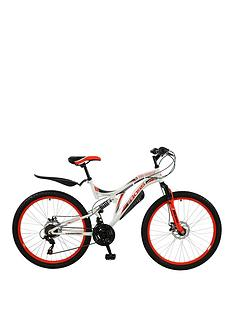 Boss Cycles Ice White Ladies Mountain Bike 18 inch Frame
