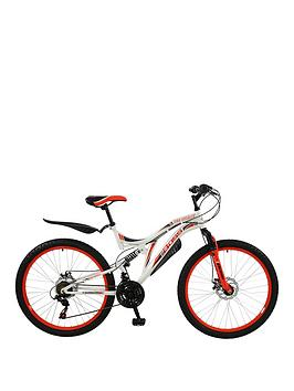 Image of Boss Cycles Ice White Ladies Mountain Bike 18 inch Frame, One Colour, Women