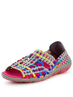 adesso-gracie-open-toe-elastic-shoe