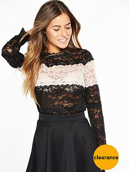 v-by-very-petite-petite-contrast-lace-blouse