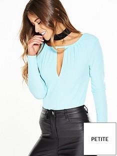v-by-very-petite-rib-keyhole-bodysuit