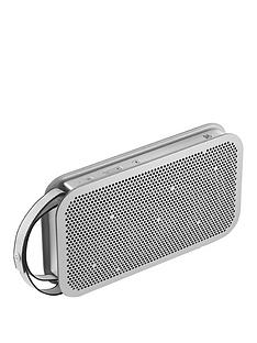 B&O Play by Bang & Olufsen Beo Play A2 Active Portable Bluetooth Wireless Speaker - Natural