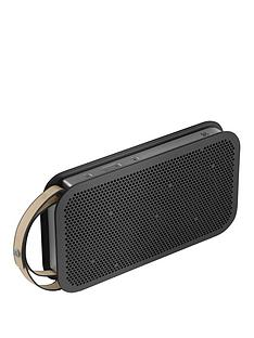 B&O Play by Bang & Olufsen Beo Play A2 Active Portable Bluetooth Wireless Speaker - Stone Grey
