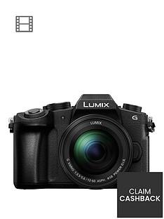 panasonic-lumix-dmc-g80-mirrorlessnbspcompact-system-camera-12-60mm-lens-4k-ultra-hd-wi-fi-olednbsplive-viewfinder-3-lcdnbspvari-angle-touch-screen-black-pound150-cash-back-available