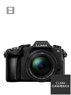 panasonic-lumix-dmc-g80-mirrorlessnbspcompact-system-camera-12-60mm-lens-4k-ultra-hd-wi-fi-olednbsplive-viewfinder-3-lcdnbspvari-angle-touch-screen-with-pound100-cashback-black