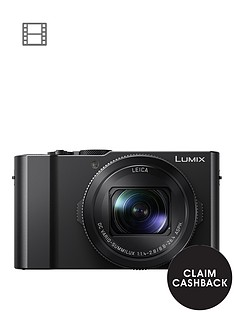 panasonic-lumix-dmc-lx15-201nbspmegapixel-4k-ultra-hd-digital-camera-3x-optical-zoom-3-lcdnbsptiltable-touch-screen-black-with-optional-accessory-kit