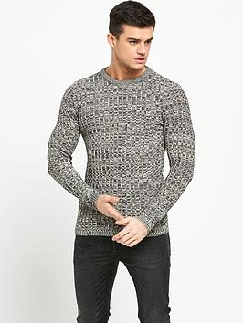 river-island-knitted-ribbed-slim-fit-jumper