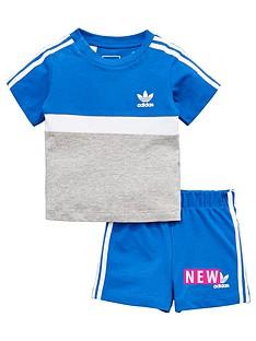 adidas-originals-adidas-originals-baby-boys-panel-shorts-set