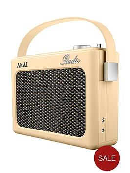 akai-dab-retro-radio-cream
