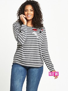 so-fabulous-stripe-badge-jersey-t-shirt-greyivorynbsp