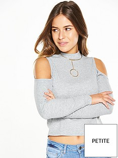 v-by-very-petite-petite-cropped-ribbed-long-sleeve-crop-top