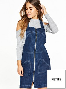 v-by-very-petite-petite-denim-pinafore-dress