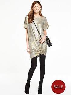 v-by-very-foil-print-t-shirt-dress