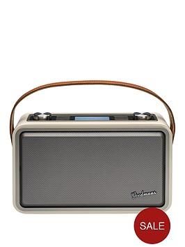 goodmans-dabfm-wi-fi-radio-withnbspbluetooth-nfcnbspandnbspspotifynbspconnect-cream