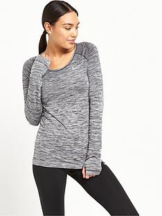 nike-dri-fit-knit-long-sleeved-top