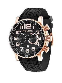police-police-mens-black-multi-dial-black-strap-watch