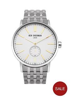 ben-sherman-ben-sherman-mens-white-multi-dial-yellow-detail-silver-strap-watch