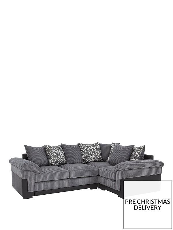 Phoenix Right Hand Double Arm Corner Group Sofa