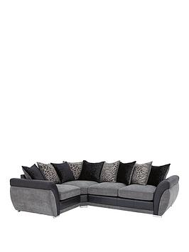 Hilton Left-Hand Double Arm Corner Group Sofa