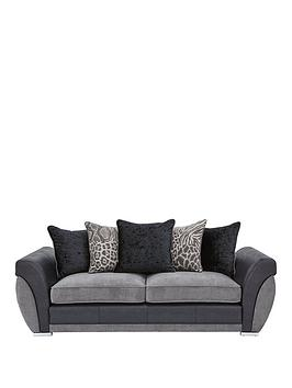 hilton-fabric-and-faux-leather-3-seater-scatter-back-sofa