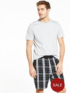 v-by-very-check-short-pyjama