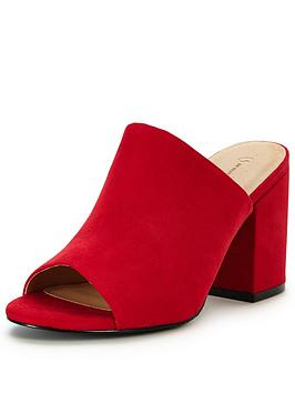v-by-very-cora-block-heeled-mule-red