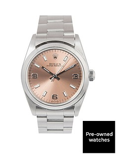 rolex-rolex-midsize-steel-oyster-perpetual-salmon-3-6-and-9-31mm-dial-stainless-steel-ladies-watch-1999
