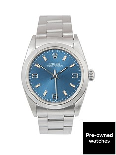 rolex-rolex-midsize-steel-oyster-perpetual-blue-3-6-and-9-31mm-dial-stainless-steel-ladies-watch-1998