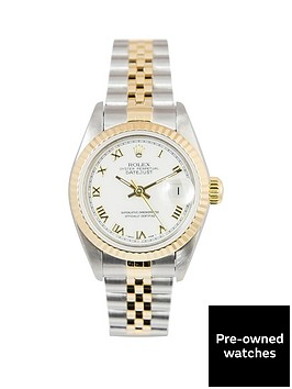 rolex-rolex-bimetal-datejust-white-roman-numeral-26mm-dial-steel-and-18k-yellow-gold-ladies-watch-includin
