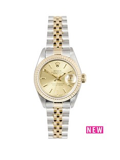 rolex-rolex-bimetal-datejust-champagne-baton-26mm-dial-steel-amp-18k-yellow-gold-ladies-watch-including-pape